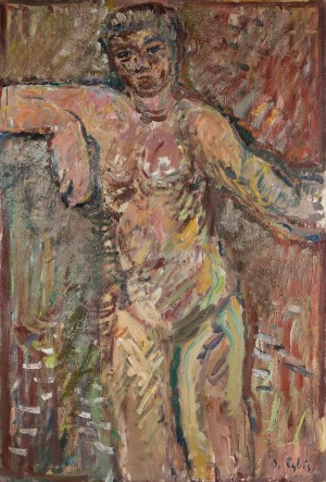 Jan Cybis (1897 Wróblin - 1972 Warszawa), Akt I, 1962 r.