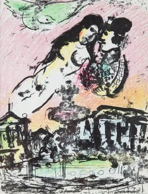 Marc Chagall (1887 Łoźno k. Witebska-1985 Saint-Paul de Vence), The Lover's Heaven