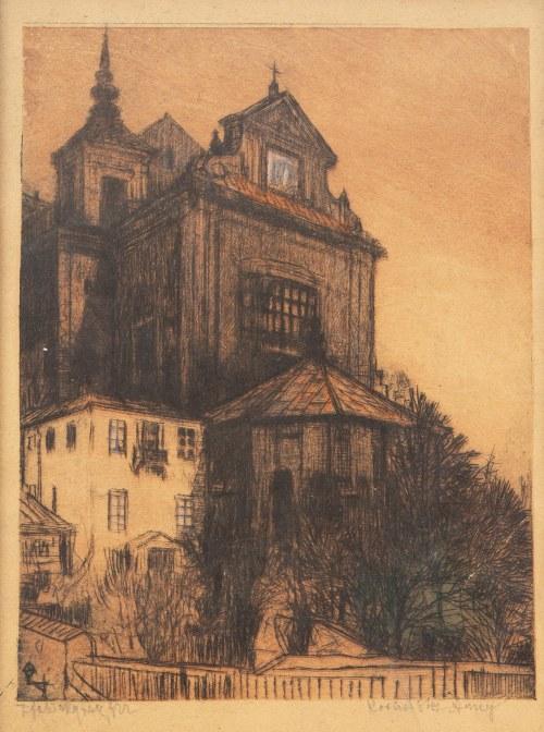 Feliks Jabłczyński (1865 - 1928 Warszawa), Kościół Św. Anny, 1915 r.
