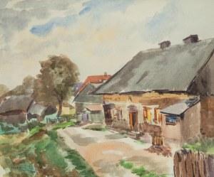 Tibor Czorba (Csorba) (1906 Szepesváralja (Węgry) - 1985 Warszawa), Skalinów, 1959 r.