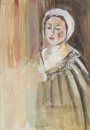 Zygmunt Landau (1898 Łódż - 1962 Tel Aviv), Portret kobiety