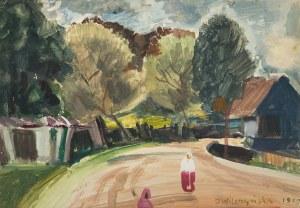 Irena Wilczyńska (ur. 1907 r.), Na wiejskiej drodze, 1953 r.