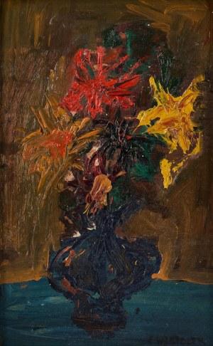 Józef Wasiołek (1921 Smarglin - 2008 Łódź), Kwiaty w wazonie
