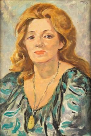 Helena Krajewska (1910 Biecz-1998 Warszawa), Portret kobiety, 1979 r.