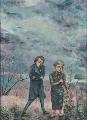 Franciszek Maśluszczak (ur. 1948), Po stronie świtu, 1985/6 r.