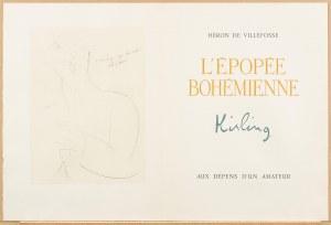 Mojżesz Kisling (1891 Kraków - 1953 Sanary-sur-Mer), L 'epopee Bohemienne