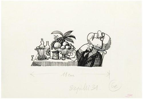 Jerzy Flisak (1930 Warszawa - 2008 tamże), Ilustracja do Szpilek nr 31