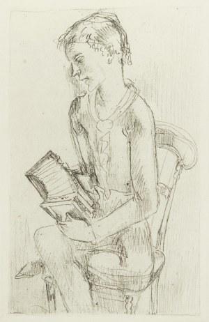 Eugeniusz Zak (1884 Mogilno – 1926 Paryż), Chłopiec z harmonią