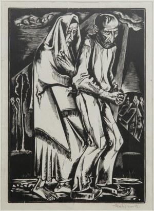 Tadeusz Kulisiewicz (1899 Kalisz-1988 Warszawa), Biedacy, 1931 z teki Szlembark