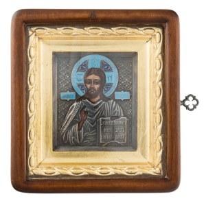 Ikona - Chrystus Pantokrator, współczesna