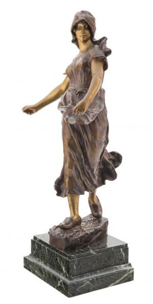 Artysta nieokreślony (XIX/XX w.), Bretonka, 1899 r.