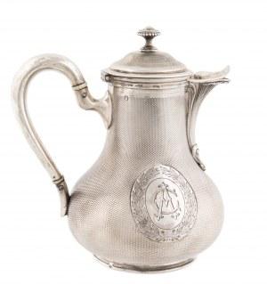 Dzbanek do gorącego mleka, Francja, Paryż, ODIOT, ok. 1840 r.