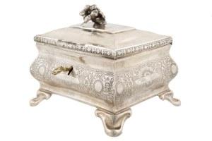 Cukiernica srebrna, Europa Środkowa, ok. poł. XIX w.