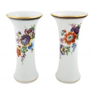 Para wazonów typu flet, Miśnia, po 1934 r.