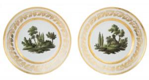 Para talerzy, Popow, Moskwa, I poł. XIX w.