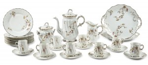 Serwis kawowy na 8 osób, Rosenthal, 1891-1906 r.