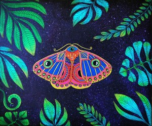 Luiza Poreda, Animal planet: Transmutatio papilio, 2021