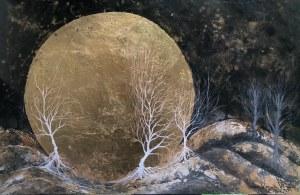 Mariola Świgulska, W księżycowym gaju, 2021