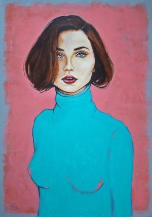 Renata Magda, Portret w turkusie
