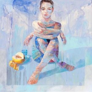 Adam Wątor, Dziewczyna z owocami, 2021