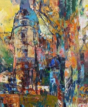 Krzysztof Ludwin, Jesienny Paryż z cyklu Art Deco, 2020