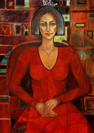 Krystyna Ruminkiewicz, Taka jedna w czerwonej sukience, 2021