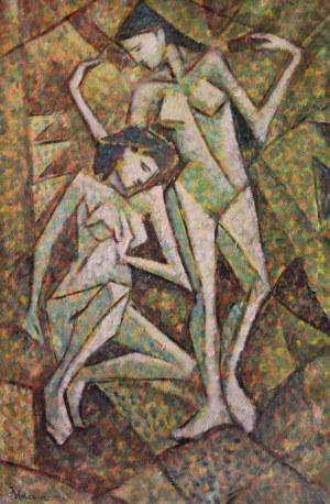 Jerzy HULEWICZ (1886-1941), Dwie gracje I (1926)