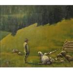 Zefiryn ĆWIKLIŃSKI (1871-1930), Góral wypasający owce
