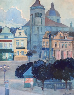 Odo DOBROWOLSKI (1883-1917), Widok miejski