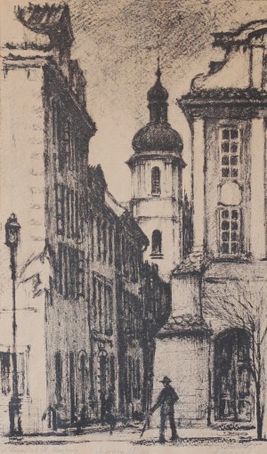 Marian PUCHALSKI (1912-1970), Ulica Piwna od Placu Zamkowego (1966)
