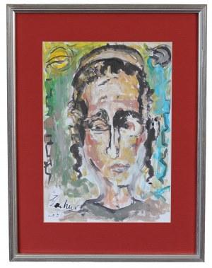 Zdzisław LACHUR (1920-2007), Portret mężczyzny