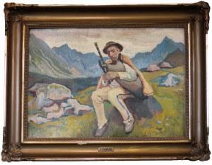 Stanisław KAMOCKI (1875-1944), Góral na hali