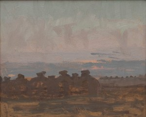 Stanisław Gałek(1876-1961),Mandle na polu,1909