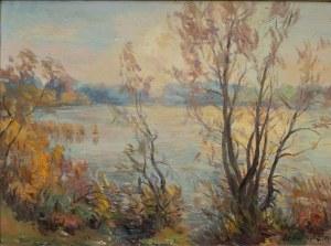 Szczepan Skorupka(1903-1997),Pejzaż jesienny,1974