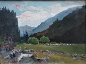 Michał Stańko(1901-1969),Z Doliny Kościeliskiej