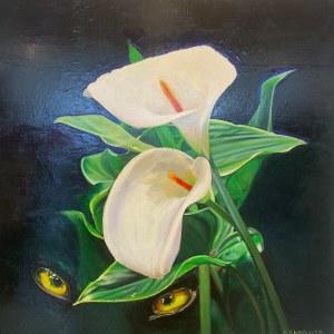 Marta Gwizdowska, Yellow Eyes, 2021r.