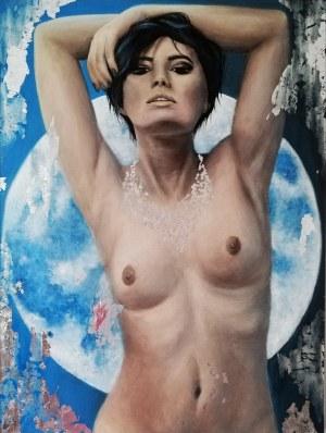 Katarzyna Jastrzębska, Blue Moon, 2021r.