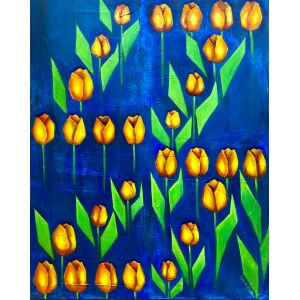 Katia Meller, Tulipany, 2021r.