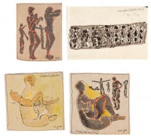 Zbysław Marek MACIEJEWSKI (1946-1999), Zestaw 4 rysunków, 1963