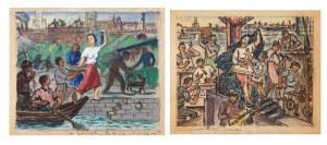 Michał GAWLAK (1906-1971), Para prac: