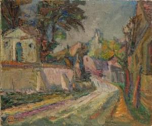 Miron DUDA (1893-1950), Pejzaż z Kazimierza Dolnego