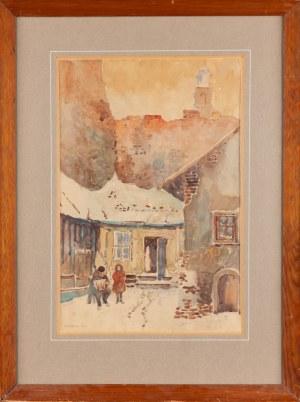 Autor nieokreślony, XX w., Akordeonista, 1932