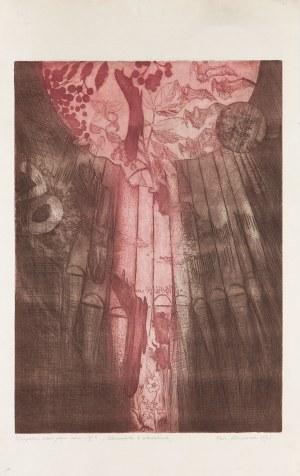 Ewa WIECZOREK (1947-2011), Zestaw 7 grafik, 1971-1973