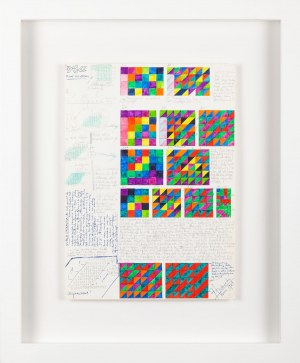 Jerzy GRABOWSKI (1933 - 2004), Transfiguracja na znakach prostych, 1987