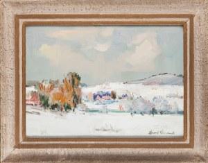 Edward WIECZOREK (1901-1988), Motyw zimowy