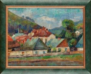 Dora KON-RAWSKA (1900-po 1984) - przypisywana, Miasteczko