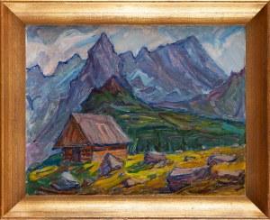 Tadeusz KUREK (1906-1974), Szałas w górach