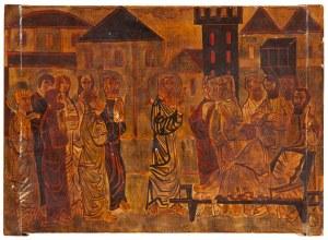 Stefan GAŁKOWSKI (1912-1984), Scena biblijna