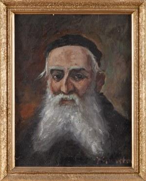 Józef CHARYTON (1912-1975), Portret brodatego mężczyzny