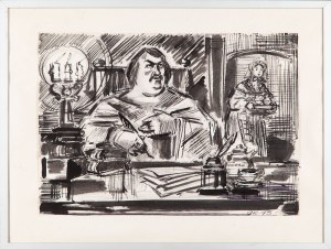 Andrzej KURKOWSKI (1927-1994), Honoré de Balzac